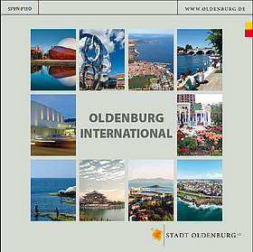 "Titelbild der Broschüre ""Oldenburg International"". Quelle: Stadt Oldenburg"