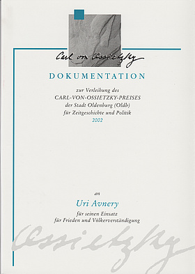 Cover der Dokumentation 2002. © Stadt Oldenburg