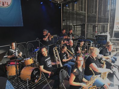 M-Band beim Swinging Groningen Festival. Foto: Stadt Oldenburg
