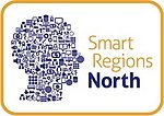 Logo Smart Regions North. Quelle: Smart Regions North